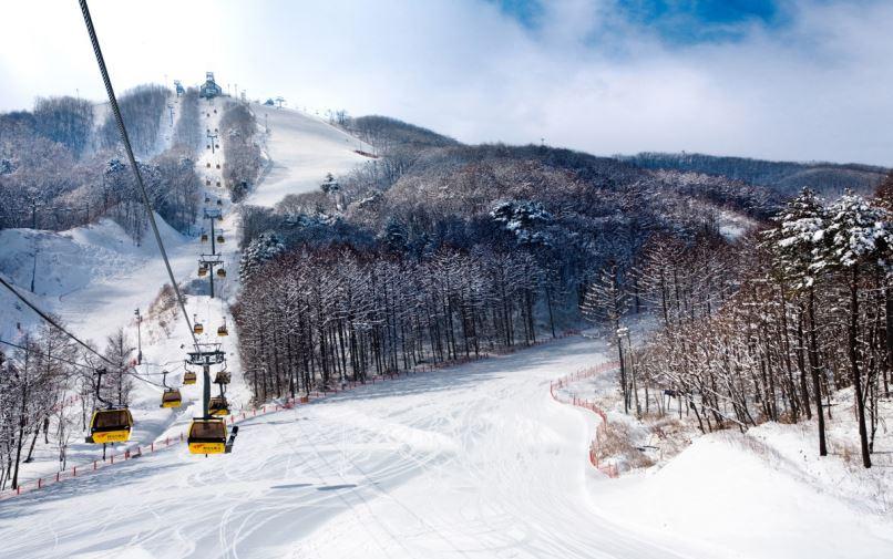 Pyeongchang ski resort