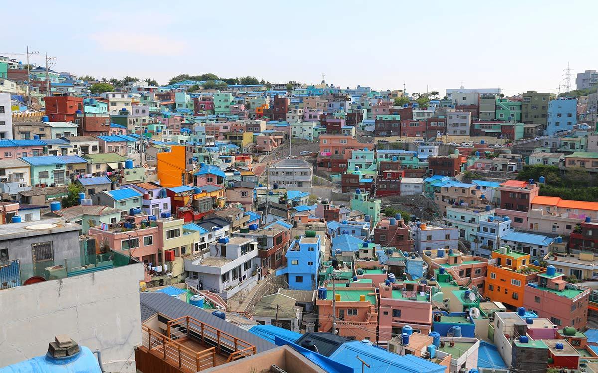 Busan Gamcheon Colorful village