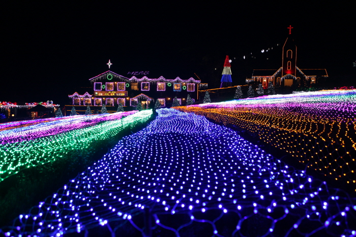 허브아일랜드 불빛동화축제