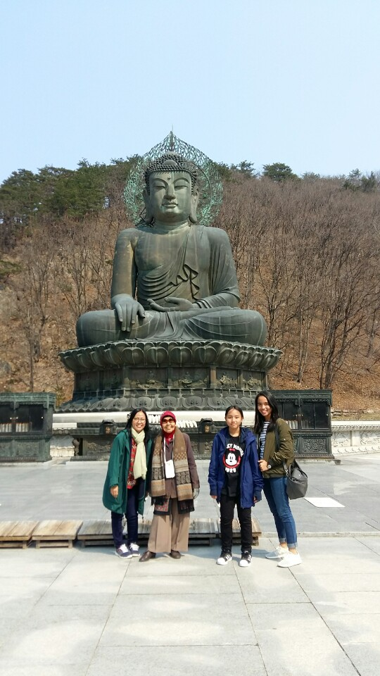 Seorak National Park Buddha
