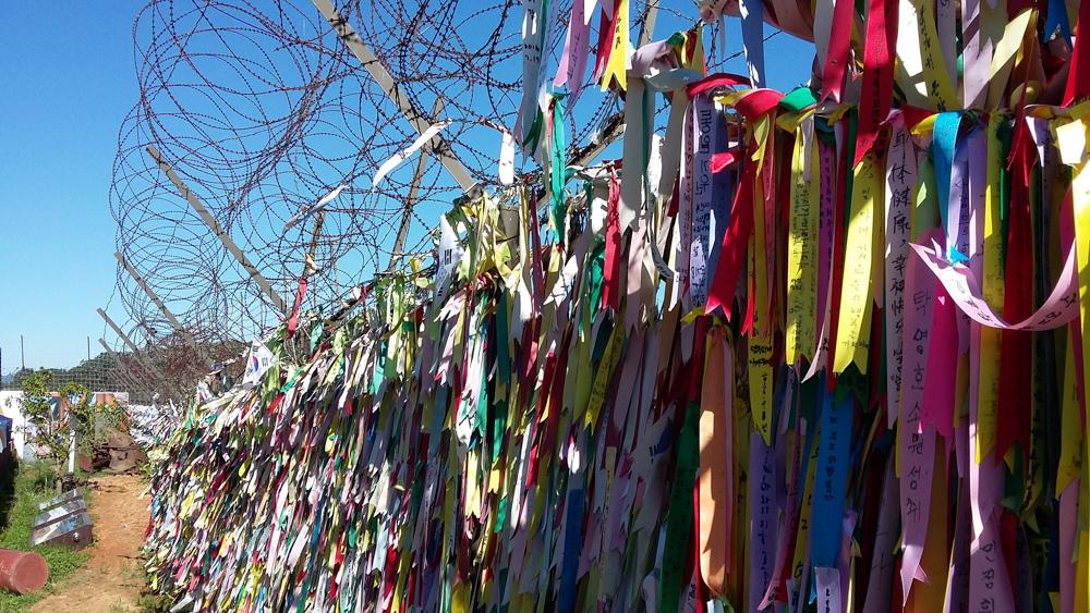 DMZ_Imjingak Peace messages Wall