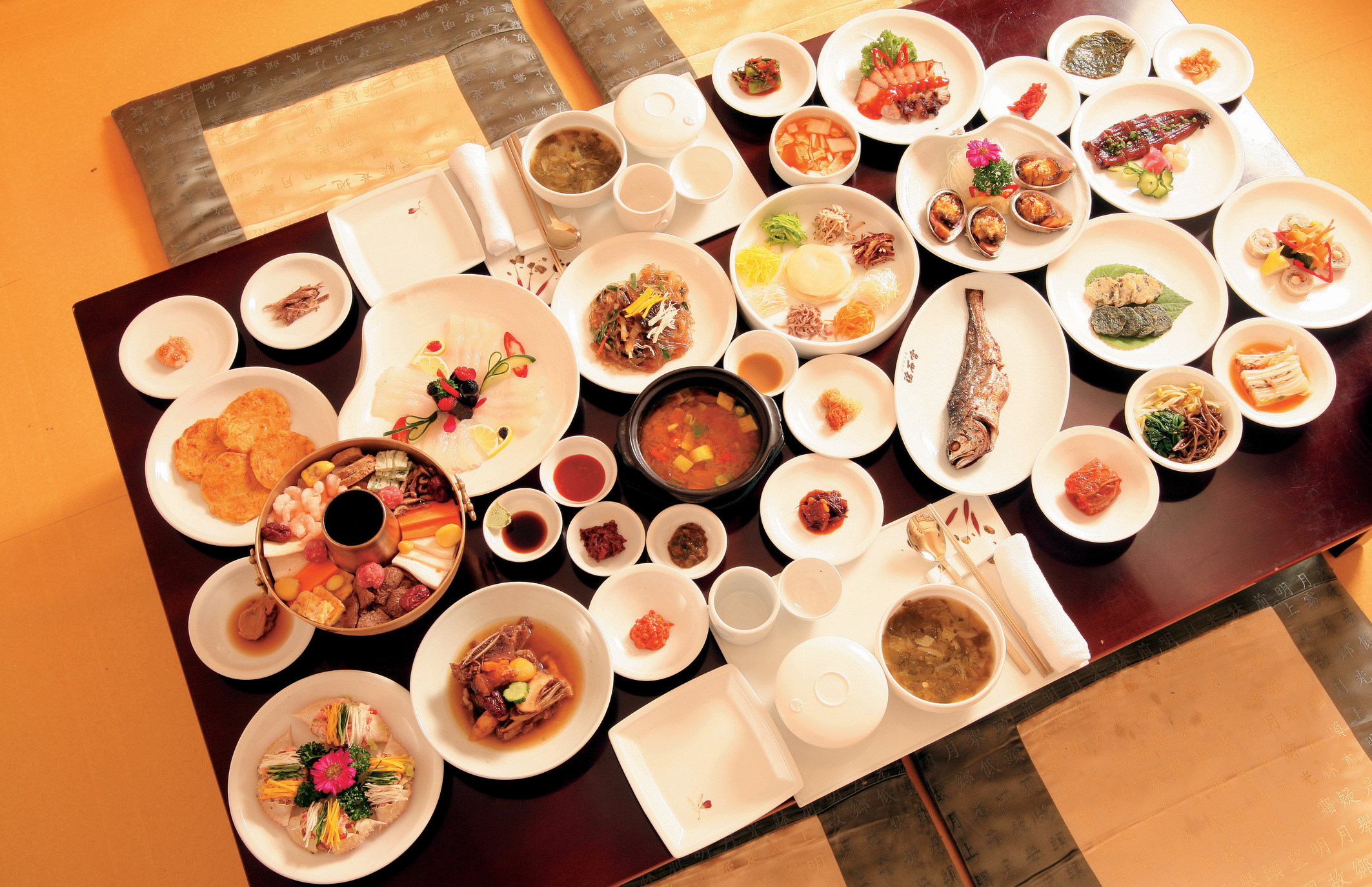 Hanjeongsik (Korean Food Tabling)