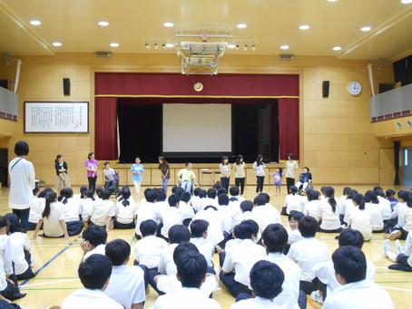[ワークショップ]西早稲田中学校ワークショップにて