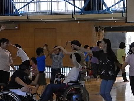 [ワークショップ]高井戸第三小学校の『オリンピック・パラリンピック教育』授業にて