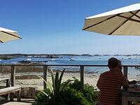 Ruin Beach Cafe Tresco Isles of Scilly