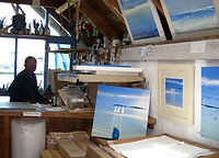 Richard Pearce artists studio