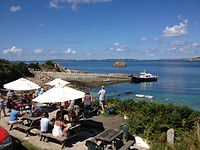 Turks Head Pub St Agnes Isles of Scilly Cornwall