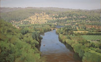 Beynac, France, from the ramparts of Cha