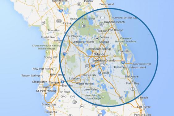 CACE service region Orlando area