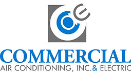 Commercial Air Conditioning and Electric Logo