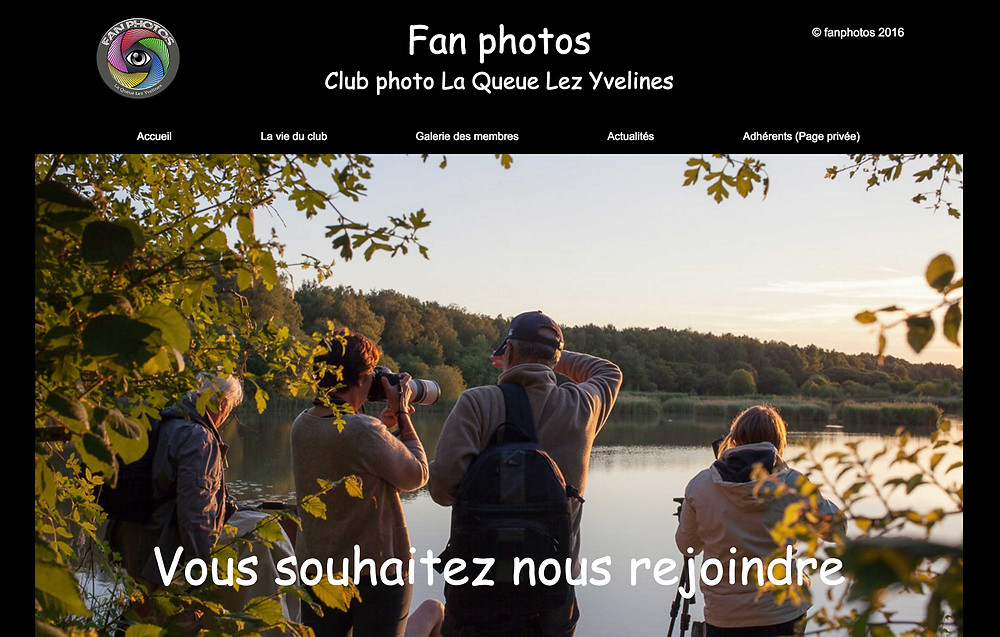 Fan photos un nouveau site pour un club photo dynamique