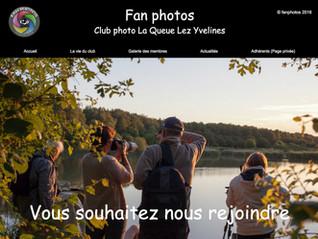 Un nouveau site pour un club photo dynamique