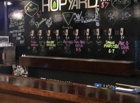 Happy times at Hopyard