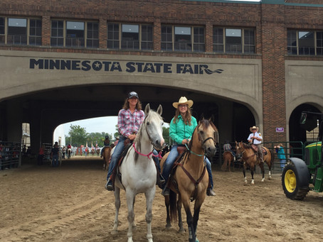 Trail Dusters at the 2019 Horse Expo! April 26-28