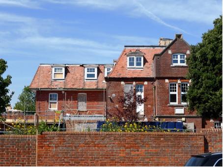 New swift bricks fitted in Emsworth
