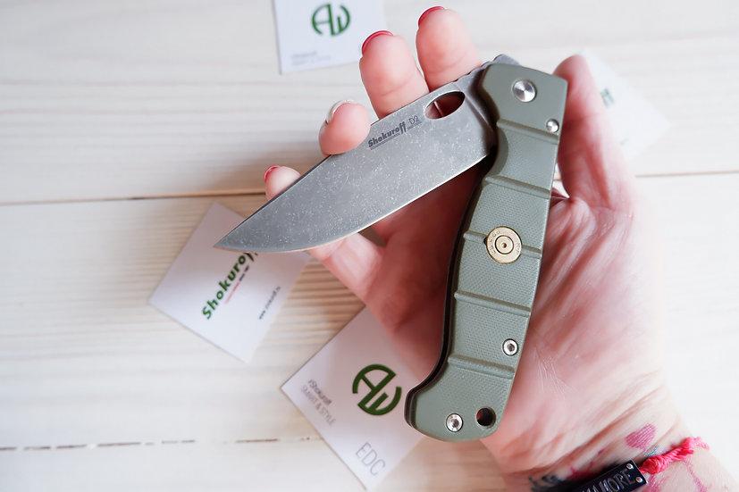 Складной нож Shokuroff M0801 пуля [D2 • G10]