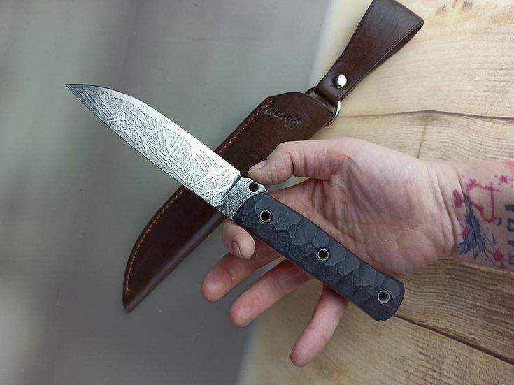 Нож Shokuroff M1003 [D2 с травлением | G10]