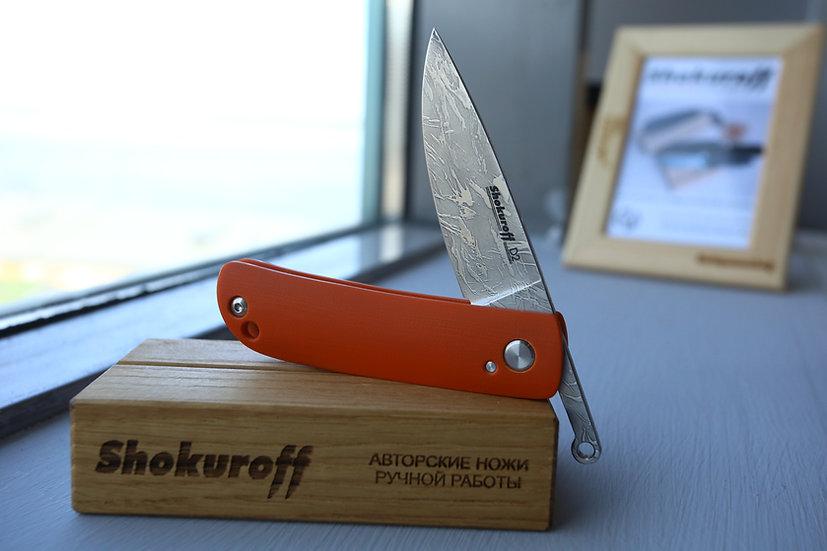 Фрикционный нож Shokuroff оранжевый