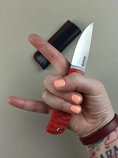Фрикционный нож Shokuroff N690 | G10 red
