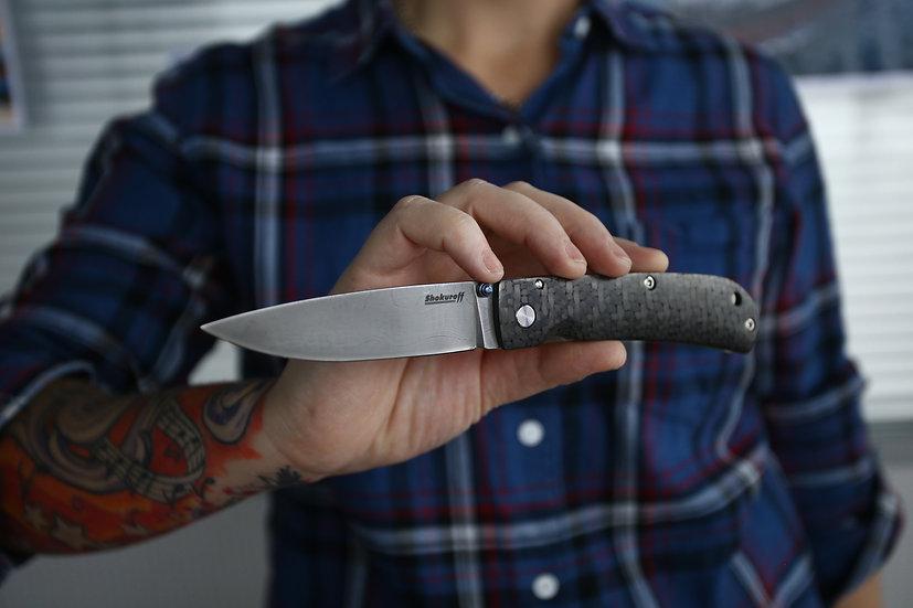 Складной нож Shokuroff M1802-95 [Ламинат Пампуха И.Ю.]
