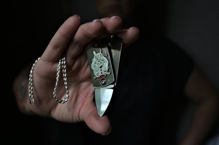 "Жетон-нож ""Тоторо"" Shokuroff  №4 CUSTOM"