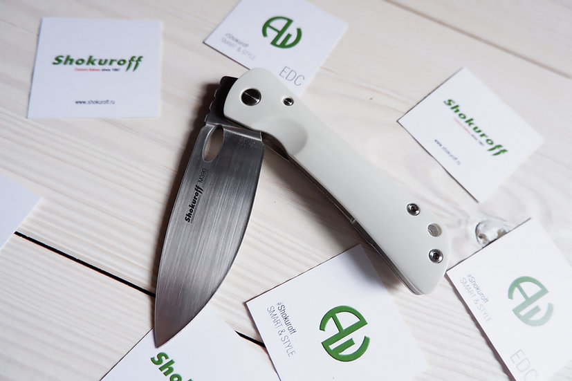 Складной нож Shokuroff M0601 mimi [M390 • G10]