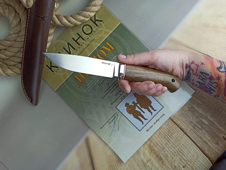 Нож Shokuroff M0701 [D2 | орех]