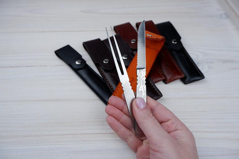 Shokuroff набор для пикника вилка-ножик