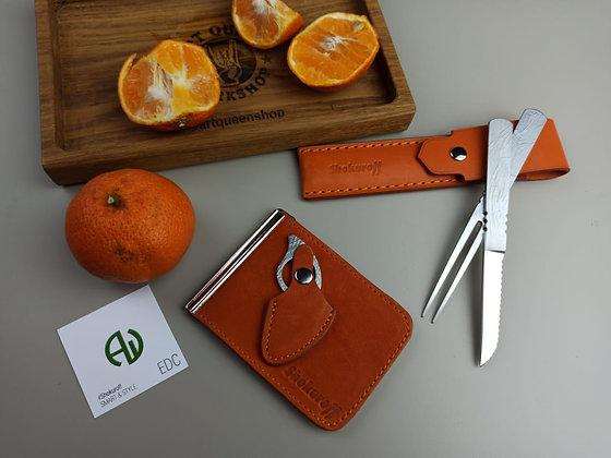 """Подарочный набор SHOKUROFF """"Коготь"""" №5 orange"""