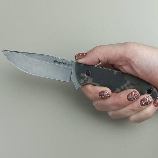 Нож Shokuroff 412 mini N690 camo