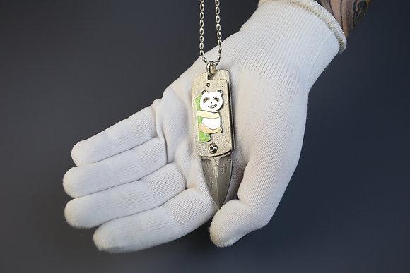 Армейский жетон с ножом Shokuroff knives ART EDC №21