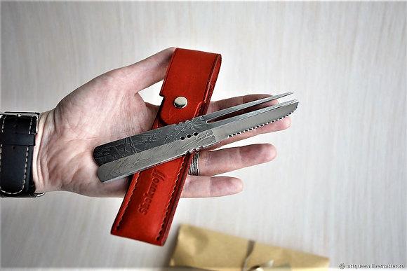 Набор для барбекю SHOKUROFF вилка + ножик