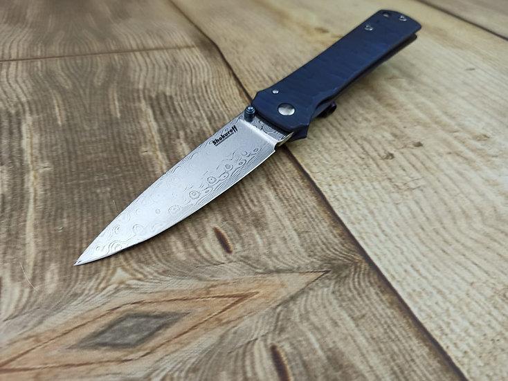 Складной нож Shokuroff M1301 [Damasteel]
