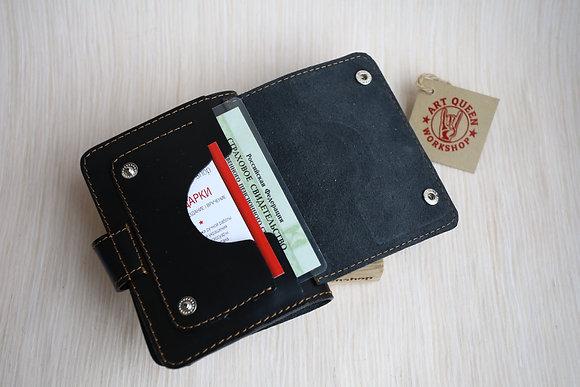 AQ ОБЛОЖКА НА ПАСПОРТ №3 с застёжкой и объемным карманом