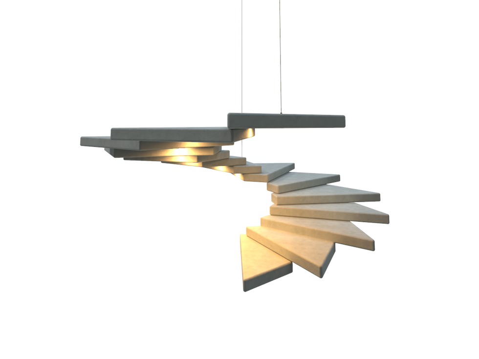Concrete Lamp   AB Denizel