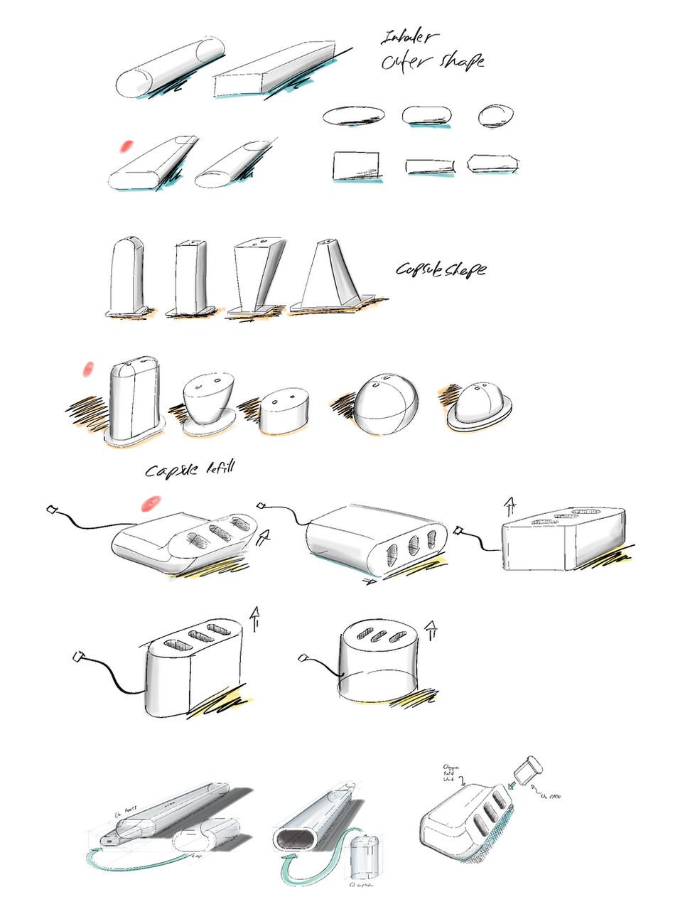 O2 sketches | AB Denizel