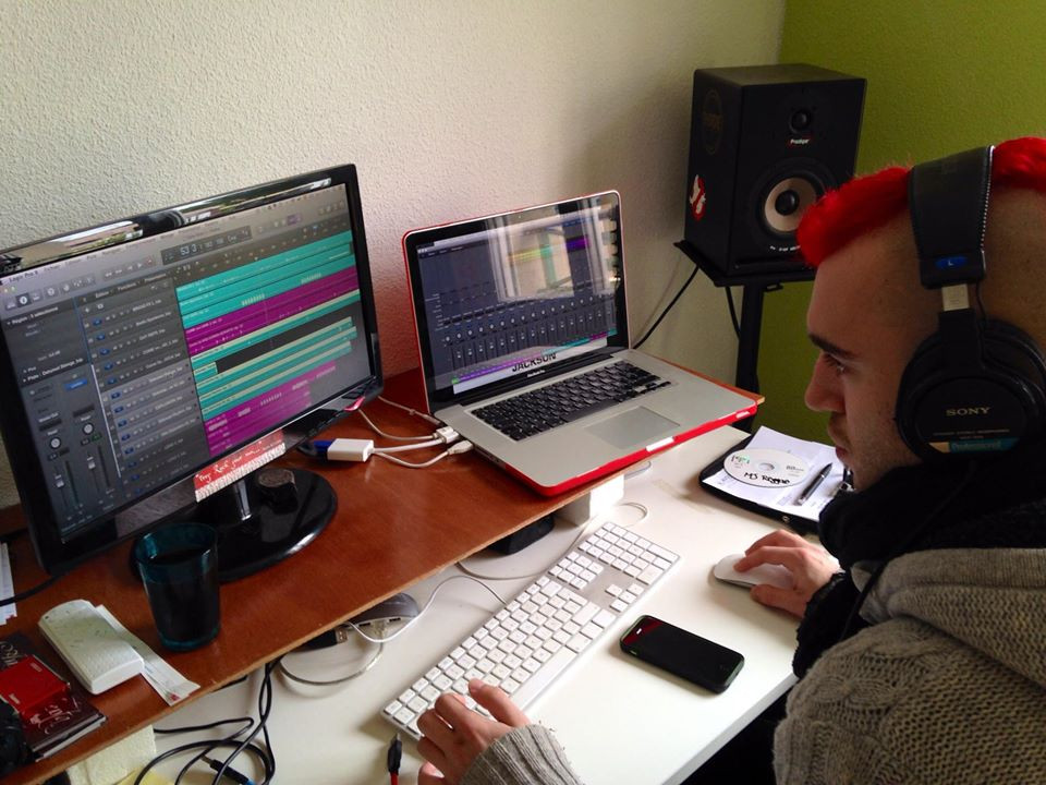 David Carrasco mixing