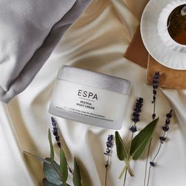 Full range of ESPA products