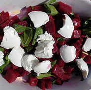 Beetroot Rocket and Goats Cheese Salad.j