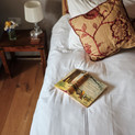 Beautiful linens and attention to detail