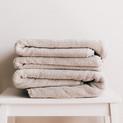 Beautiful linens at The Spa