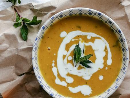 RECIPE: Butternut Squash & Ginger Soup