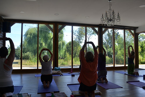 Green Farm Day Retreat for 2 (Yoga or Exercise)