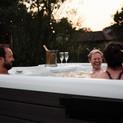 Enjoy a group tub at The Spa