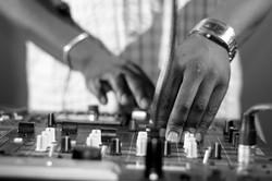 DJ Eric Visa adds more cowbell