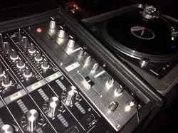 Rotary blending on the DJM-1000