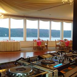 Hudson River wedding, New York