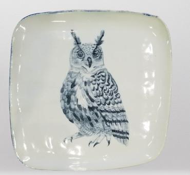 Horned Owl Plate