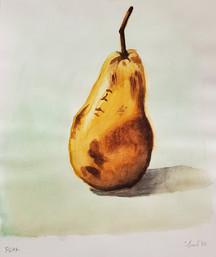 Watercolor Pear