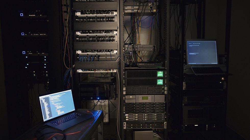 laptop-and-server-panels-in-dark-server-